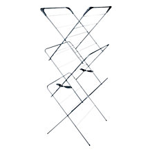 Buy Addis 3 Tier Indoor Airer, Silver Online at johnlewis.com