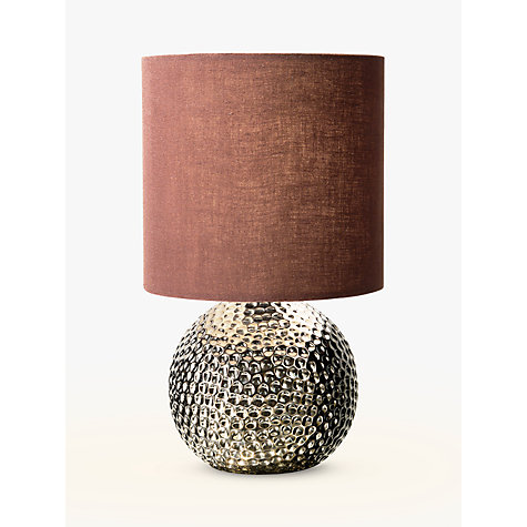 Buy John Lewis Alisa Table Lamp, Bronze Online at johnlewis.com