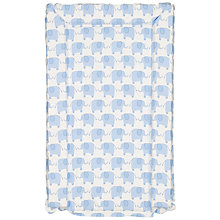 Buy John Lewis Baby Elephant Changing Mat, Blue Online at johnlewis.com