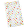 John Lewis Baby Multi Spot Changing Mat, Lime/Red/Brown