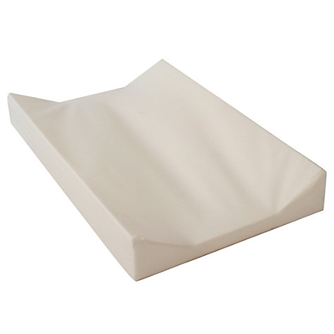 Buy John Lewis Baby Wedge Changing Mat, Cream Online at johnlewis.com