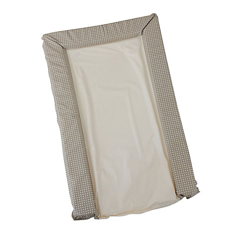 Buy John Lewis Baby Mini Spot Changing Mat and Liner, Natural Online at johnlewis.com