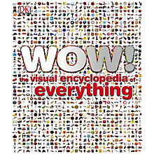 Buy Wow! The Visual Encyclopedia of Everything Online at johnlewis.com
