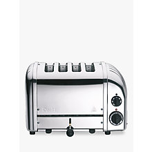 Buy Dualit NewGen Toaster, 4-Slice, Polished Stainless Steel + FREE Sandwich Cage Online at johnlewis.com