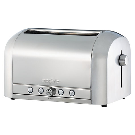 Buy Magimix 11536, Le Toaster 4, 4-Slice, Brushed Stainless Steel Online at johnlewis.com