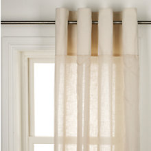 Buy John Lewis Catriona Voile Panel, Cream Online at johnlewis.com