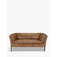 Buy Halo Groucho Small Leather Sofa Online at johnlewis.com