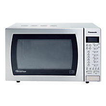 Buy Panasonic NN-ST479S Microwave Oven, Stainless Steel Online at johnlewis.com