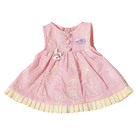 Buy Baby Born Dolls Dress Online at johnlewis.com