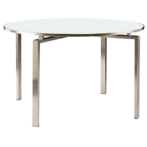 Buy Barlow Tyrie Mercury Round 4 Seater Outdoor Dining Table Online at johnlewis.com