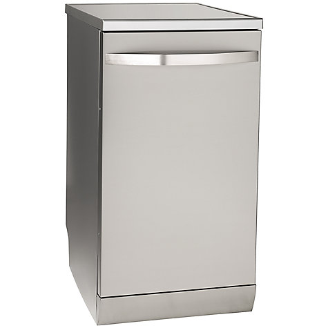 Buy John Lewis JLDWS907 Slimline Dishwasher, Stainless Steel Online at johnlewis.com