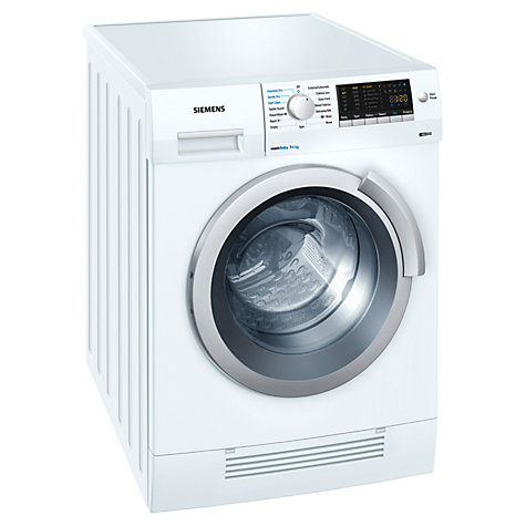Buy Siemens WD14H420GB Washer Dryer, 7kg Wash/4kg Dry Load, B Energy Rating, 1400rpm Spin, White Online at johnlewis.com