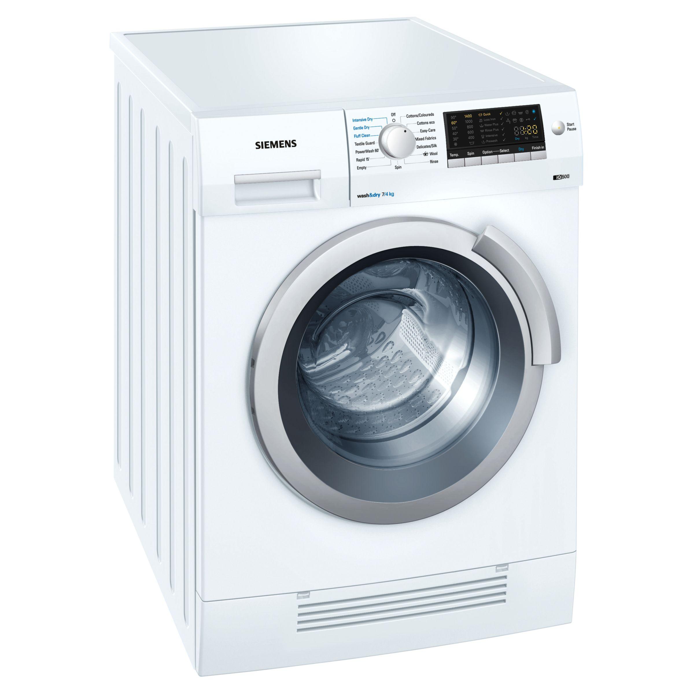 Siemens IQ500 WD14H420GB 1400 Spin 7+4Kg Washer Dryer in White