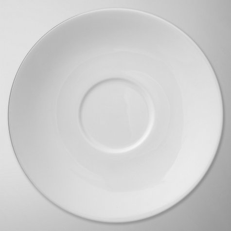 Buy Jasper Conran for Wedgwood White Tea Saucer Online at johnlewis.com