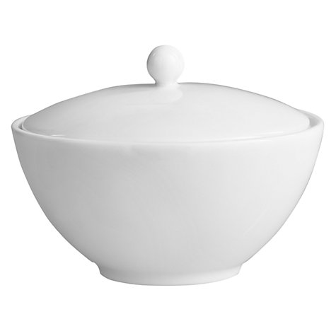 Buy Jasper Conran for Wedgwood White Covered Sugar Bowl Online at johnlewis.com