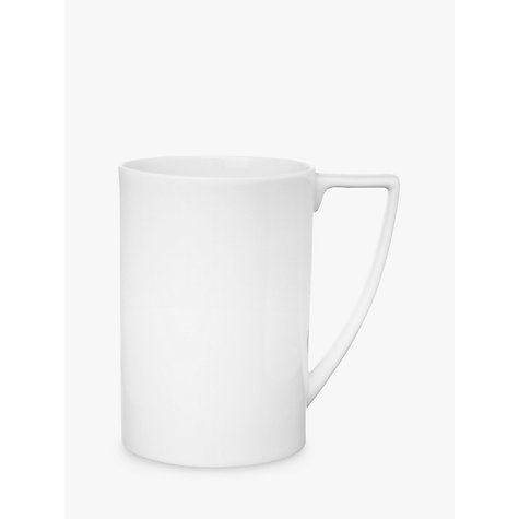 Buy Jasper Conran for Wedgwood White Mug, 0.5L Online at johnlewis.com