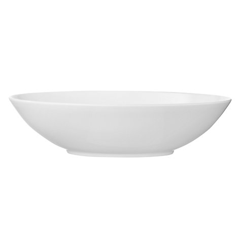 Buy Jasper Conran for Wedgwood White Oval Serving Dish Online at johnlewis.com