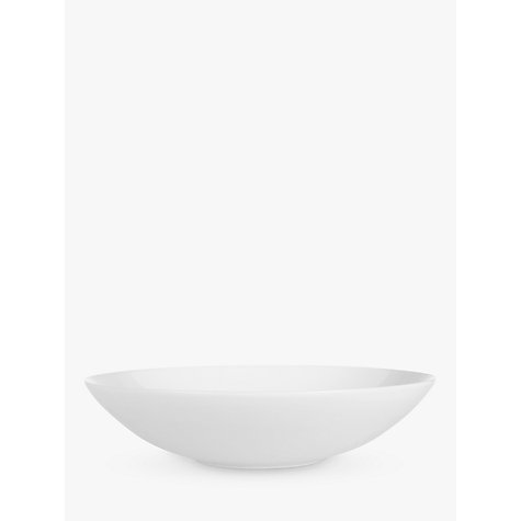 Buy Jasper Conran for Wedgwood White Pasta Dish, Dia.25cm Online at johnlewis.com