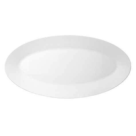 Buy Jasper Conran for Wedgwood White Oval Platter, Medium Online at johnlewis.com