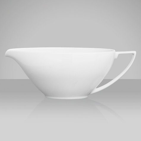Buy Jasper Conran for Wedgwood White Sauce Boat Online at johnlewis.com