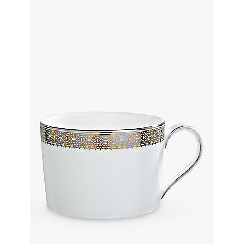 Buy Vera Wang for Wedgwood Lace Platinum Teacup Online at johnlewis.com