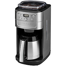Buy Cuisinart DGB900BCU Grind and Brew Online at johnlewis.com
