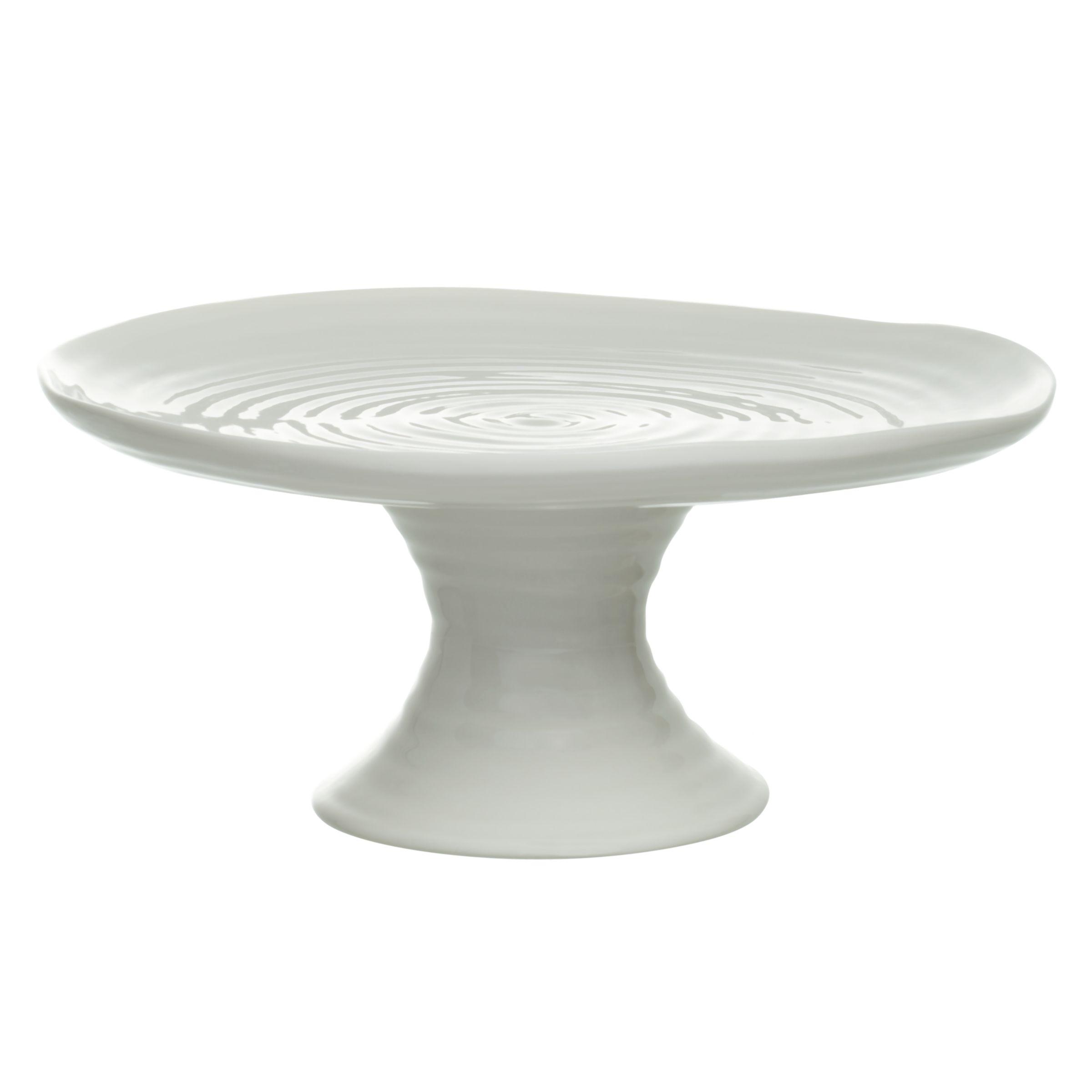 Sophie Conran for Portmeirion Sophie Conran for Portmeirion Footed Cake Plate, White, Dia.24cm