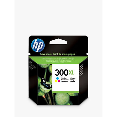 Buy HP 300XL Inkjet Cartridge, Colour Online at johnlewis.com