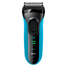 Buy Braun 340S-4 Wet and Dry Shaver Online at johnlewis.com