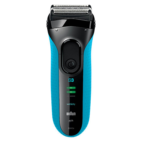 Buy Braun 340-3 Wet and Dry Shaver Online at johnlewis.com