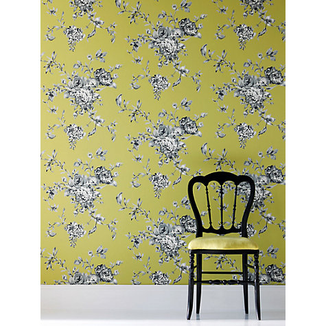 Buy Harlequin Wallpaper, Elodie 30203, Green Online at johnlewis.com