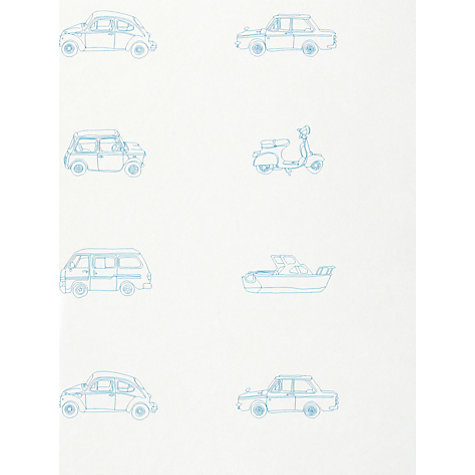 Buy Harlequin Wallpaper, Go Go Retro 70504, Blue Online at johnlewis.com