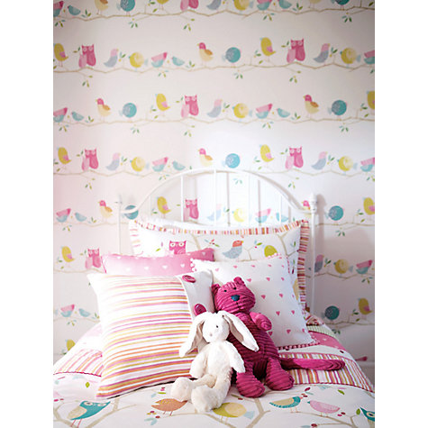 Buy Harlequin Wallpaper, What a Hoot 70517, Multi Online at johnlewis.com