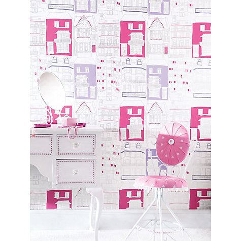 Buy Harlequin Wallpaper, Brighton 70514, Pink / Lilac Online at johnlewis.com