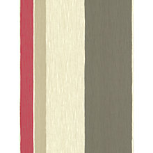 Buy Harlequin Wallpaper, Acacia Stripe 15821, Red Online at johnlewis.com