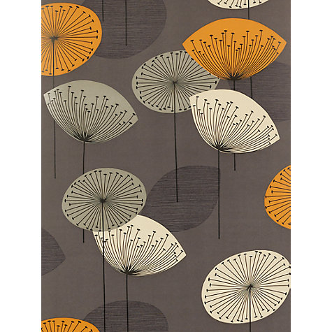Buy Sanderson Dandelion Clocks Wallpaper, DOPWDA103, Slate Online at johnlewis.com