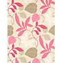 Sanderson Wallpaper, Folia DIOWFO101, Pink / Chocolate