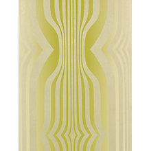 Buy Sanderson Concord Wallpaper, DVIWCO103, Lime / Gilver Online at johnlewis.com