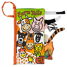 Buy Jellycat Farm Tails Book Online at johnlewis.com