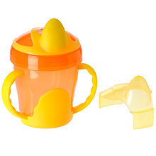 Buy Vital Baby Trainer Cup with Handles, Various Colours Online at johnlewis.com
