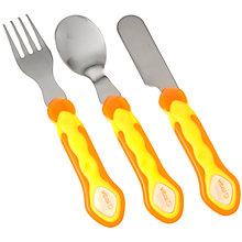 Vital Baby Stainless Steel 3-Piece Cutlery Set
