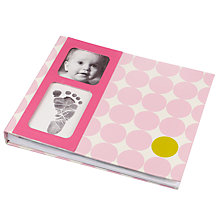 Buy Pearhead Memories Book, Pink Online at johnlewis.com