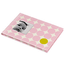 Buy Pearhead Small Memories Book, Pink Dots Online at johnlewis.com