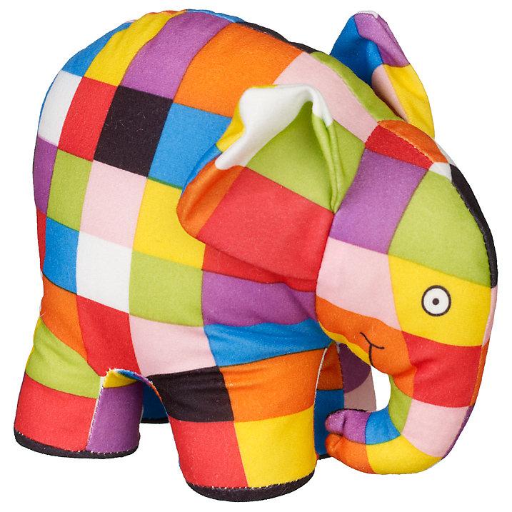 Buy Elmer the Elephant Toy Online at johnlewis.com