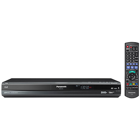 Buy Panasonic DMR-EX83-EBK DVD/HDD 250GB Digital Recorder Online at johnlewis.com