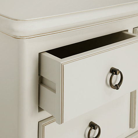 Buy John Lewis Sophia 7 Drawer Chest, Ivory Online at johnlewis.com