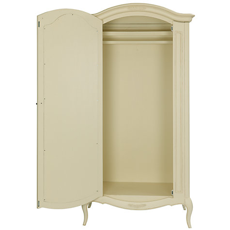 Buy John Lewis Sophia 1-door Wardrobe, Ivory Online at johnlewis.com