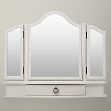 Buy John Lewis Sophia Dressing Table Mirror, Ivory Online at johnlewis.com