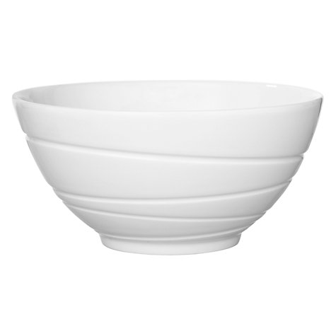 Buy Jasper Conran for Wedgwood Strata Gift Bowl, White, Dia.14cm Online at johnlewis.com