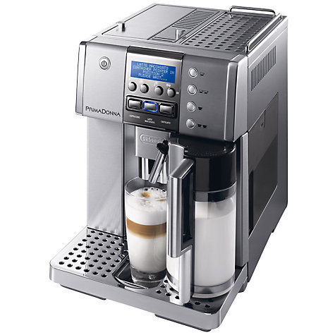 Buy De'Longhi ESAM6620 Prima Donna Bean-to-Cup Espresso Coffee Machine Online at johnlewis.com